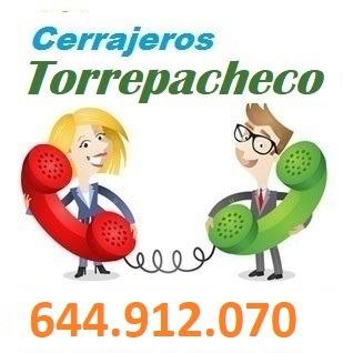 Telefono de la empresa cerrajeros Torrepacheco